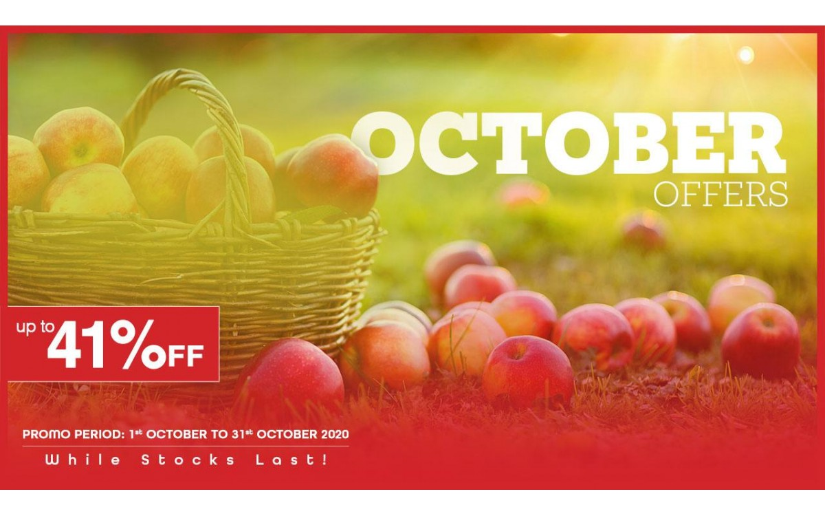 October 2020 Offers