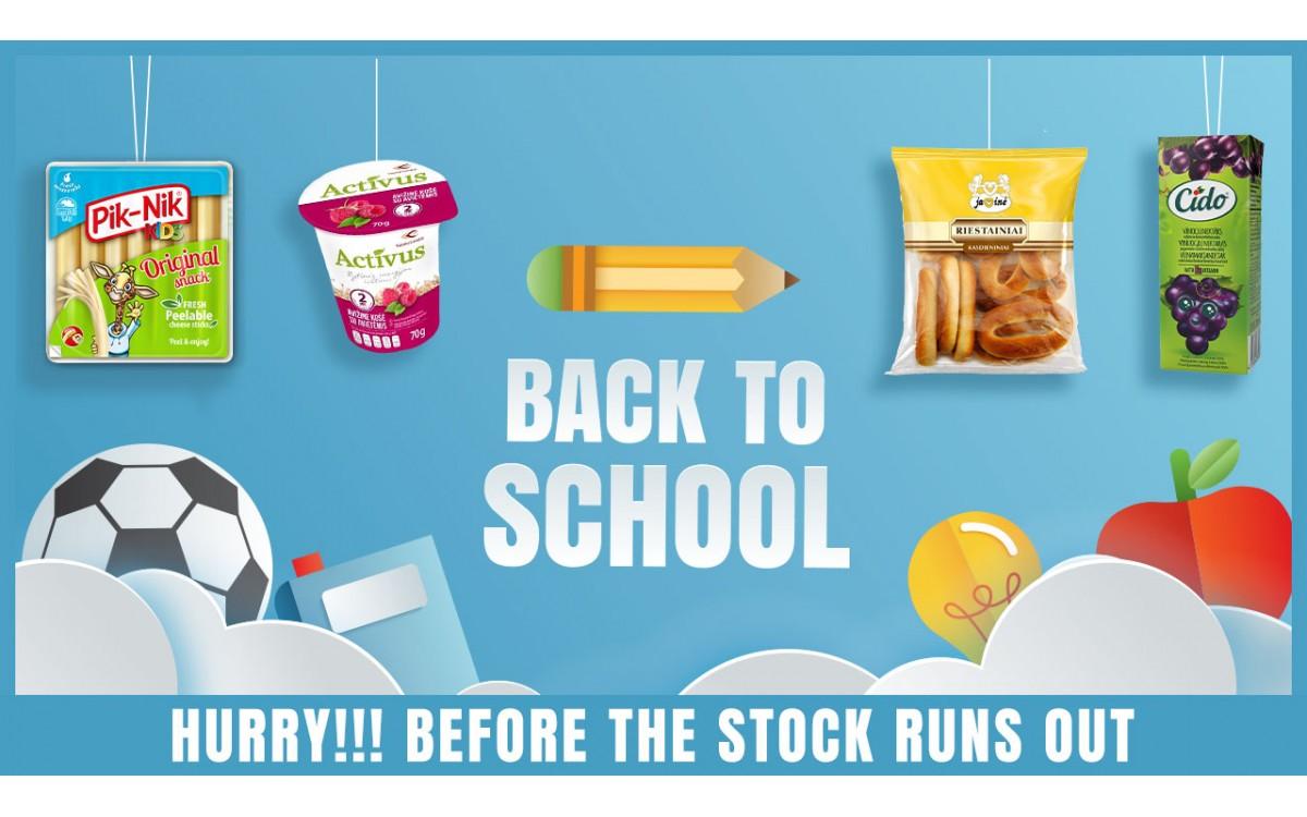 Back To School Snacks 2021