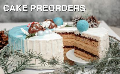 Christmas Cake Pre-Orders 2020