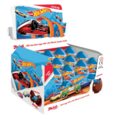 Zaini - Milk Chocolate eggs Hot Wheels 20g