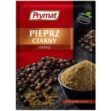 Prymat - Black Pepper Ground 20g