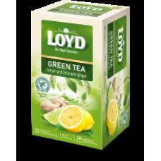 Loyd - Green Sense Lemon & Lime 20x1.7g