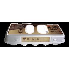 Audrupio paukstynas - Brown Eggs M 10pcs