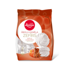 Laima - Apple Marshmallows with Cinnamon 200g