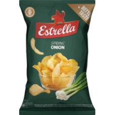 Estrella - Spring Onion Crisps 130g