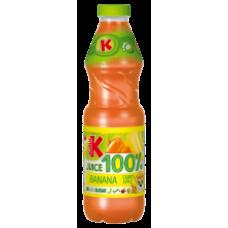 Kubus - Banana-Carrot-Apple 100% Juice 900ml PET