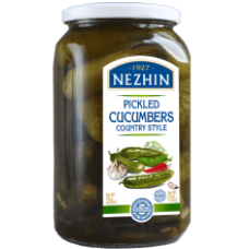 Nezhin - Canned Cucumbers Country Style 920g