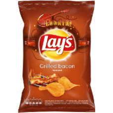 Lays - Grilled Bacon Crisps 140g