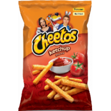 Cheetos - Ketchup Flavour Snacks 165g