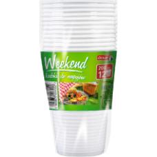 Oskar - Plastic Cups 0,2l (12pcs)