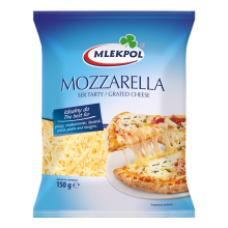 Mlekpol - Grated Mozzarella 150g