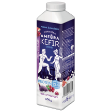 Graikiska Amfora - Kefir Drink Figs and Grapes 500g