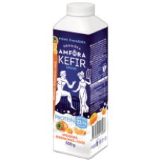 Graikiska Amfora - Kefir Drink Orange, Persimmon and Cloudberry 500g