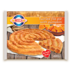 Bella - Filo pastry twirled pie with pumpkin 800g