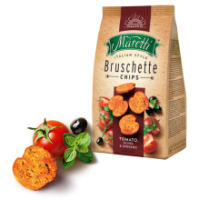 Maretti - Bruschette Tomato, Olives and Oregano 70g