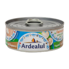 Ardealul - Vegetable spread with mushrooms 100g / Pate vegetal cu ciuperci 100g