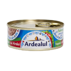 Ardealul - Vegetable spread with Paprika 100g / Pate vegetal cu ardei 100g