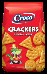 Croco - Crackers Cheese Flavour 100g / Branza