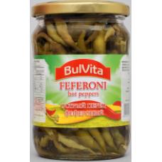 Bulvita - Hot Peppers Pfefferoni 580ml