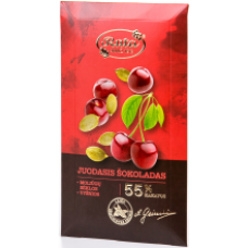 Ruta - Chocolate with Pumpkin Seeds and Cherries 90g