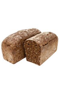 Baltasis pyragas - Dark Bread Grudelis with Seeds (for Baking) 600g