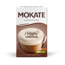 Mokate - Cappucino Belgian Chocolate Flavour 8x20g