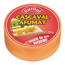 Raraul - Kashkaval Naturally Smoked 250g /Raraul Cascaval Afumat 250g