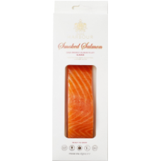Q Harbour - Cold Smoked Salmon Fillet Chunks with Skin 150g