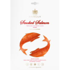 Q Harbour - Cold Smoked Salmon Fillet Slices without Skin 100g