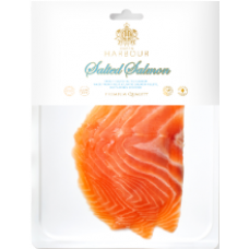 Q Harbour - Lightly Salted Salmon Fillet Slices without Skin 100g