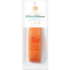 Q Harbour - Lightly Salted Salmon Fillet Chunks with Skin 150g