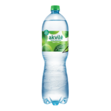 Akvile - Lime Flavour Lightly Carbonated Water 1.5L