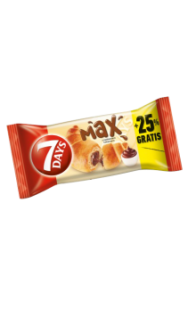 7 Days - Max Croissant with Cocoa Filling 110g