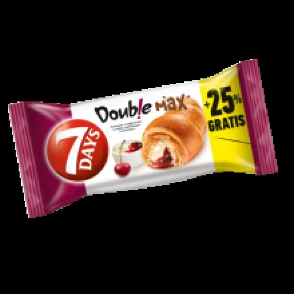 7 Days - Double Vanilla and Sour Cherry Flavour Croissant 110g