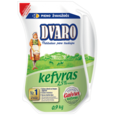 Dvaro - Kefyr 2.5% 900g jug