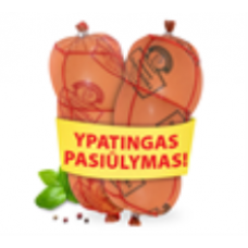Krekenavos - Cooked Sausages Set Krekenavos Daktariska 1kg