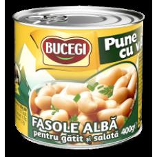Scandia Bucegi - Beans White for Salads 400g / Fasole alba de gatit si salata EO