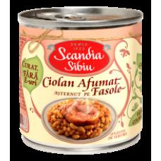 Scandia Sibiu - Beans with Pork Knuckle 400g / Ciolan porc cu fasole EO