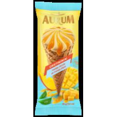 Aurum - Mango Ice Cream with Mango in Cone 150ml