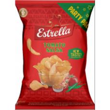 Estrella - Potato Crisps Crinkle Cut with Spicy Taste of Tomatoes 180g