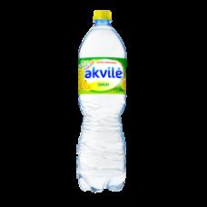 Akvile - Lemon Flavour Lightly Carbonated Water 1.5L