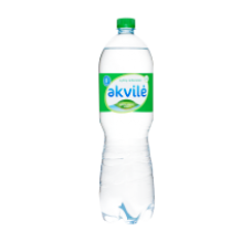 Akvile - Carbonated Natural Mineral Water 1.5L