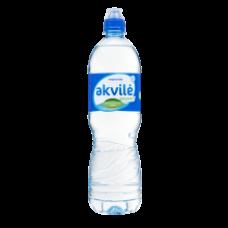 Akvile - Still Natural Mineral Water in Sport Bottle 1L