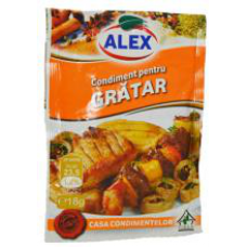 Alex - Spices Mixture for Meat & BBQ / Condimente Gratar 16g