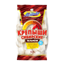 Alexander - Sibirskie Krepishy Dumplings with Meat 625g