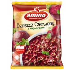 Amino - Red Beetroot Soup 66g
