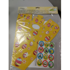 Aveka - Easter Egg set (egg rack for rolling and stickers)