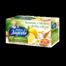 Babcia Jagoda - Chamomile Tea with Honey and Lemon 20x2g