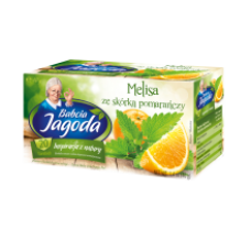 Babcia Jagoda - Lemon Balm and Orange Tea 20x2g