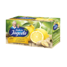 Babcia Jagoda - Lemon and Ginger Tea 20x2g